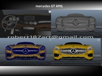 3d model of mercedes benz gt amg