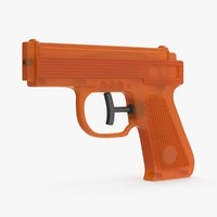 3d model water gun