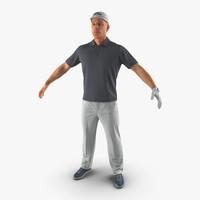 golf player 3ds