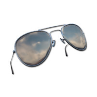 aviators metallic glasses 3d 3ds