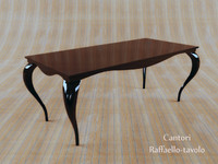 photorealistic table 3d model
