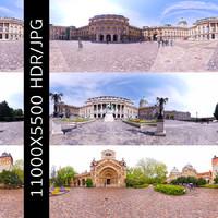 Budapest Castles HDRI