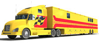 Race Car Transporter Truck 2