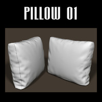 pillow interior 3d fbx