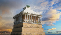 3d ancient mausoleum halicarnassus
