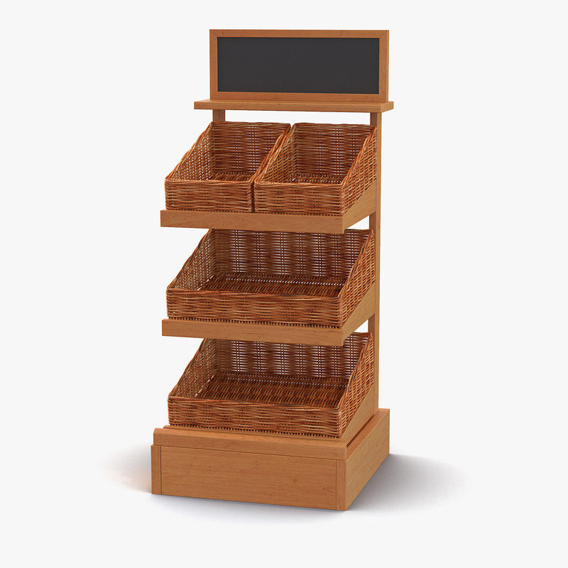 Bakery Display Shelves 3ds 3d model 01.jpg