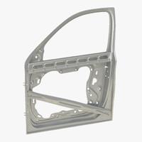 3d max suv door frame