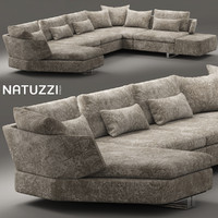 max modular sofa natuzzi