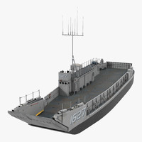 3d model landing craft utility class