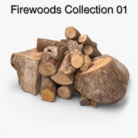 firewoods ready unreal 3d model