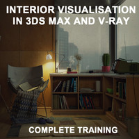 3d rendering training architectural interior model