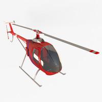 3d model of helisport hl 212