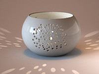 Ceramic Candle holder 02