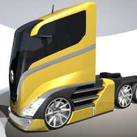 c4d concept truck design