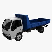 isuzu dump truck 3d max