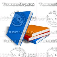 3d model square books