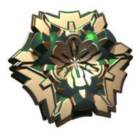 3d obj flower sci-fi sci