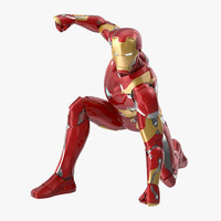 iron man mark 46 3d model