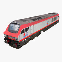 tcdd 36000 ge ph37aci 3d model