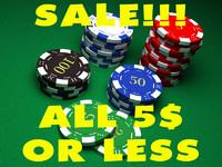 chips casino 3d model