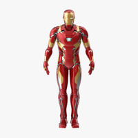 Iron Man Mark 46 - Rigged