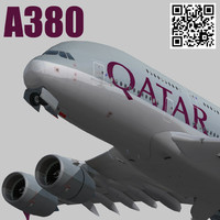 3d model games qatar airways livery