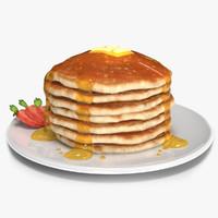 american pancake obj
