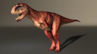 3d model carnotaurus