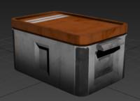 Sci-Fi Crate Medium