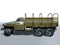 Studebaker US6 3D Model
