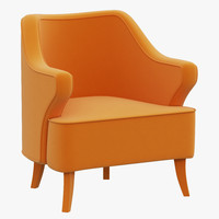 brabbu java armchair 3d model