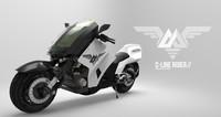 3d model motorbike bike