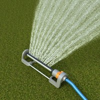 3d grass sprinkler model