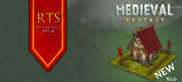 Medieval Fantasy RTS Buildings Pack
