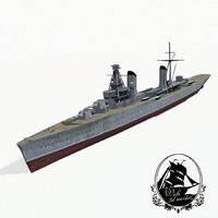 battlecruiser kirov 3d model