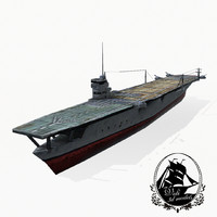 kaga carrier 3d 3ds