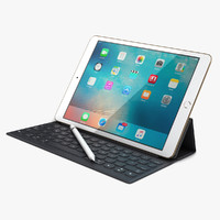 3d model apple ipad pro 9