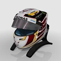 Lewis Hamilton 2016 Helmet