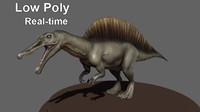 3d spinosaurus