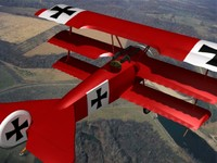 3d triplanes fokker dr-1 fighter model