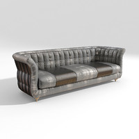 3d model sofa lady siwa
