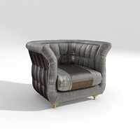 armchair lady siwa 3d model