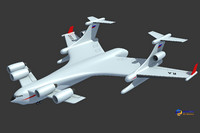 beriev be-2500 neptun cargo 3ds