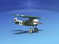 fokker dviii fighters 3ds