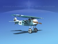 3ds fokker dviii fighters