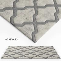 3d model rug grey