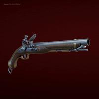 flintlock pistol max