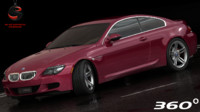 bmw m6 coupe 2010 3d max