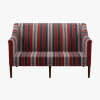 kk60920 greek sofa 2 seater 3d dwg