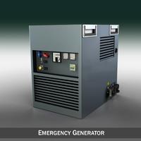 generator emergency 3d model